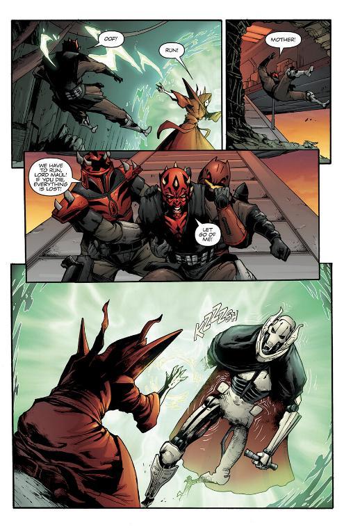Star Wars Le Côté obscur 15 : Dark Maul Le fils de Dathomir Maul-s17