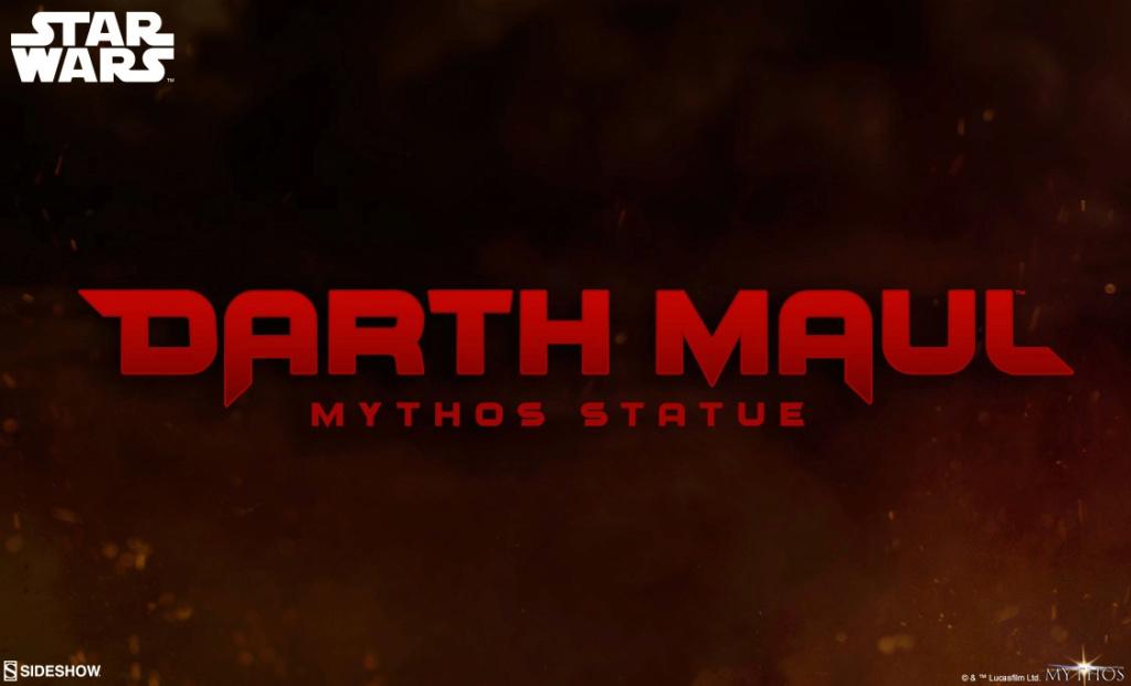 Darth Maul Mythos Statue - Sideshow Collectibles Maul_m10