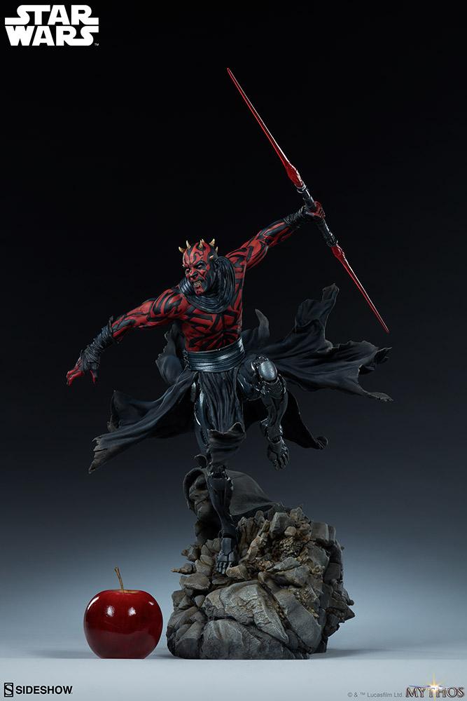 Darth Maul Mythos Statue - Sideshow Collectibles Maul_m11