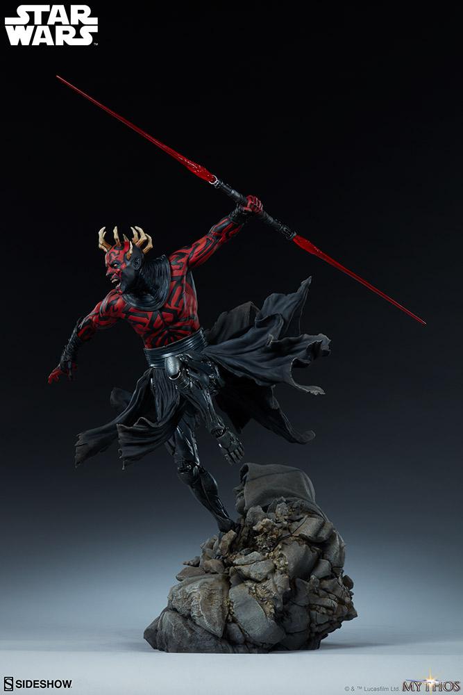 Darth Maul Mythos Statue - Sideshow Collectibles Maul_m12