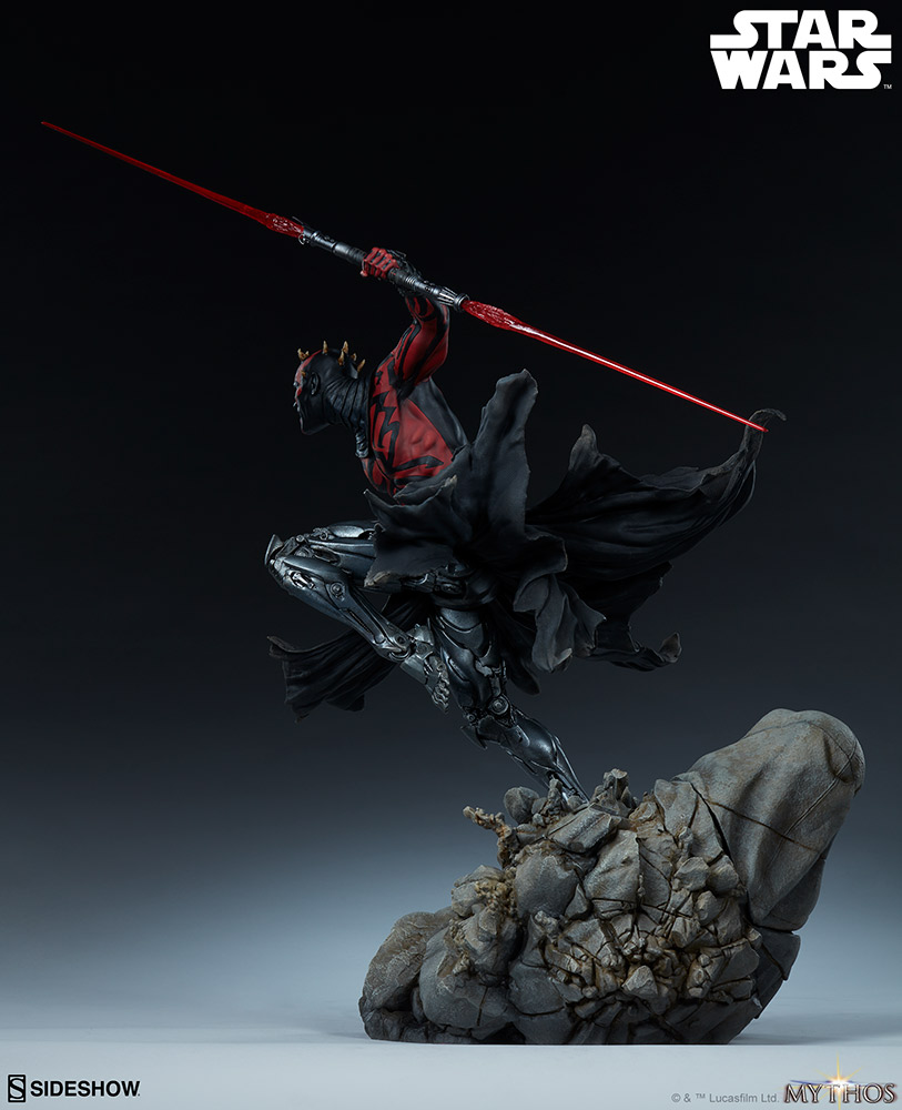 Darth Maul Mythos Statue - Sideshow Collectibles Maul_m13
