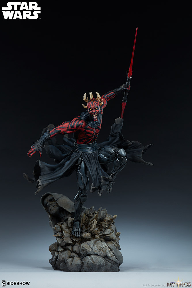 Darth Maul Mythos Statue - Sideshow Collectibles Maul_m16