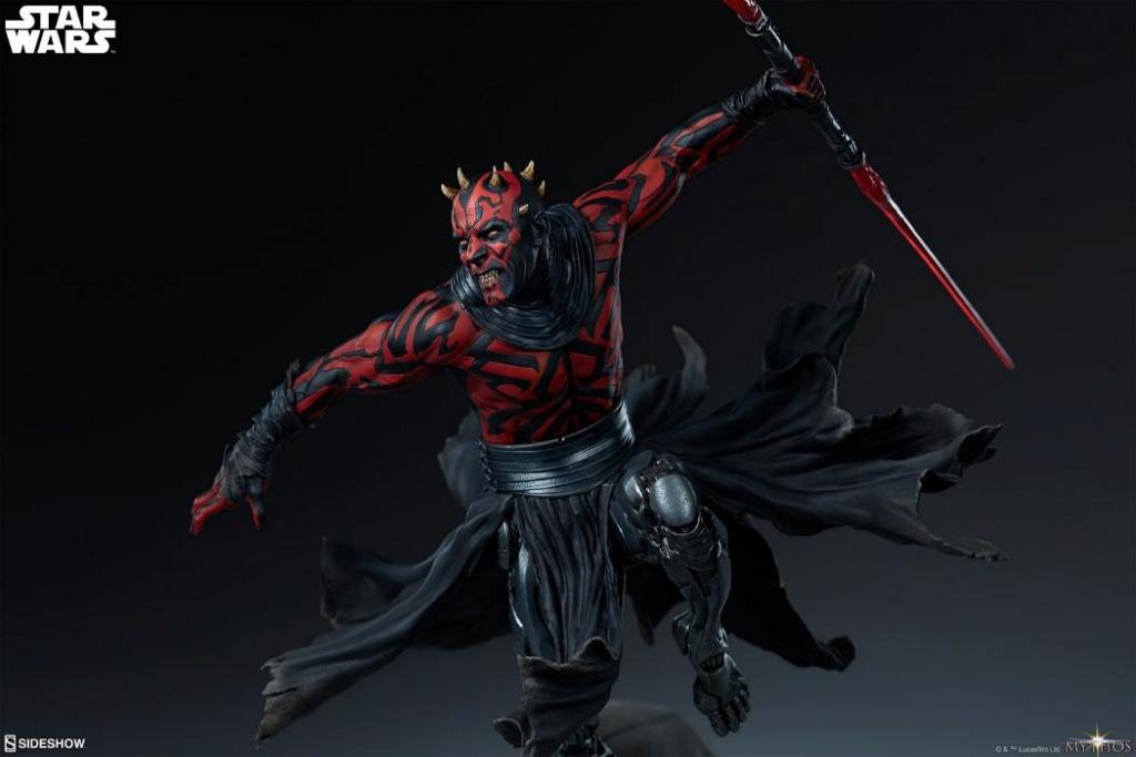 Darth Maul Mythos Statue - Sideshow Collectibles Maul_m20