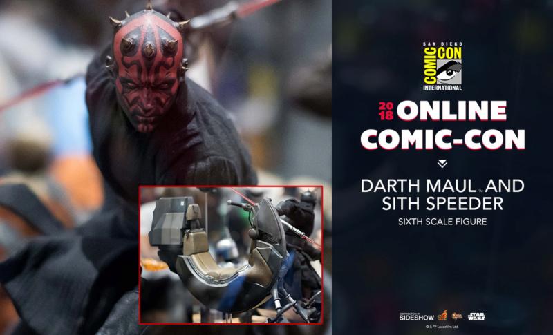 Hot Toys - Darth Maul and Sith Speeder Sixth Scale Figure Maulan10