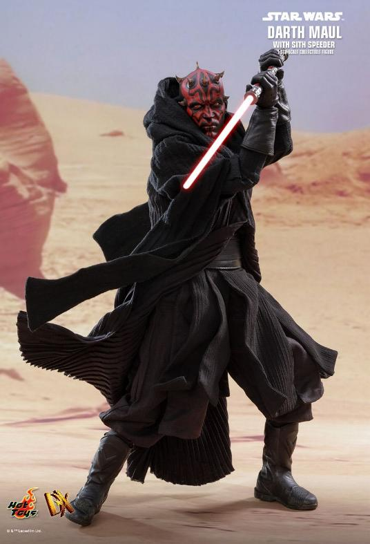 Hot Toys - Star Wars Episode I Darth Maul Sixth Scale Figure Maulan13