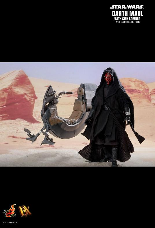 Hot Toys - Darth Maul and Sith Speeder Sixth Scale Figure Maulan15