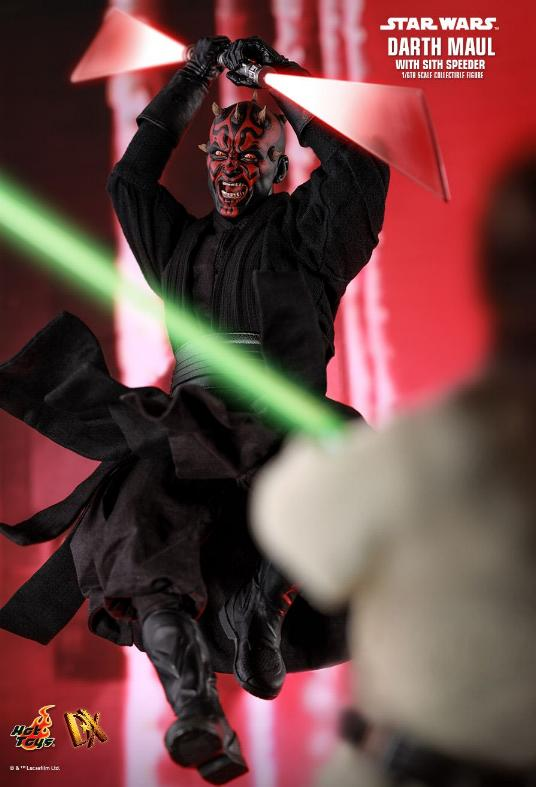 Hot Toys - Star Wars Episode I Darth Maul Sixth Scale Figure Maulan20