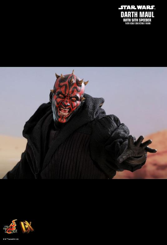 Hot Toys - Star Wars Episode I Darth Maul Sixth Scale Figure Maulan21
