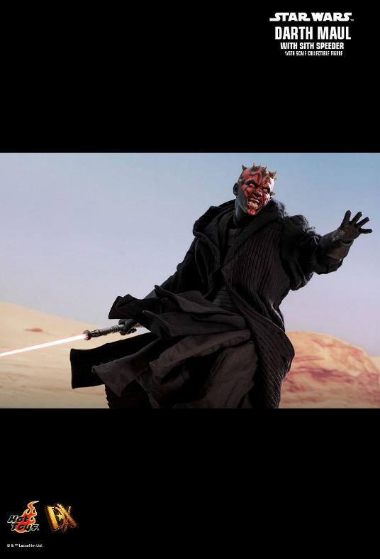 Hot Toys - Star Wars Episode I Darth Maul Sixth Scale Figure Maulan22
