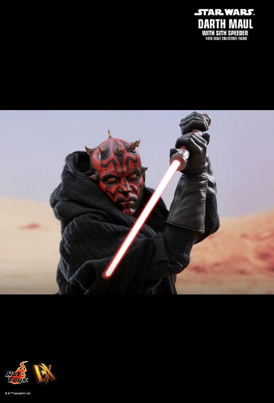 Hot Toys - Star Wars Episode I Darth Maul Sixth Scale Figure Maulan24