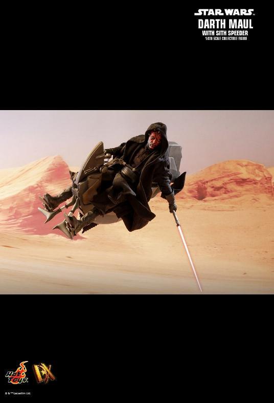 Hot Toys - Darth Maul and Sith Speeder Sixth Scale Figure Maulan25