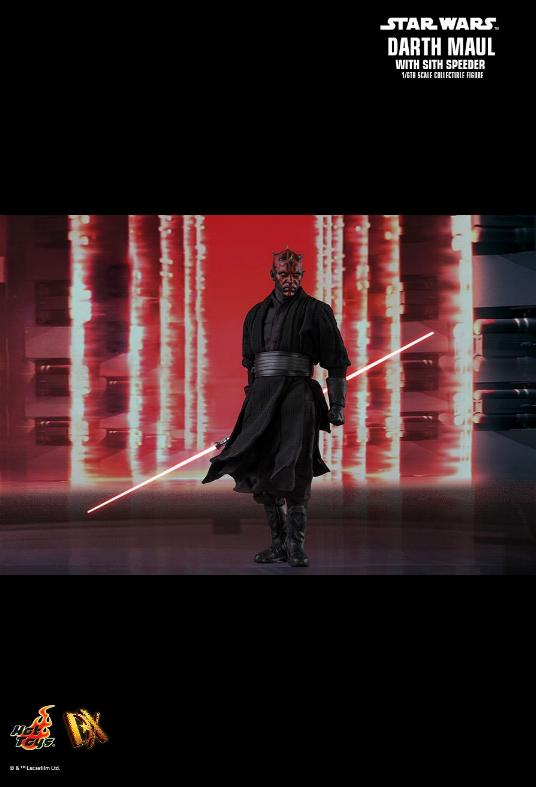 Hot Toys - Star Wars Episode I Darth Maul Sixth Scale Figure Maulan28