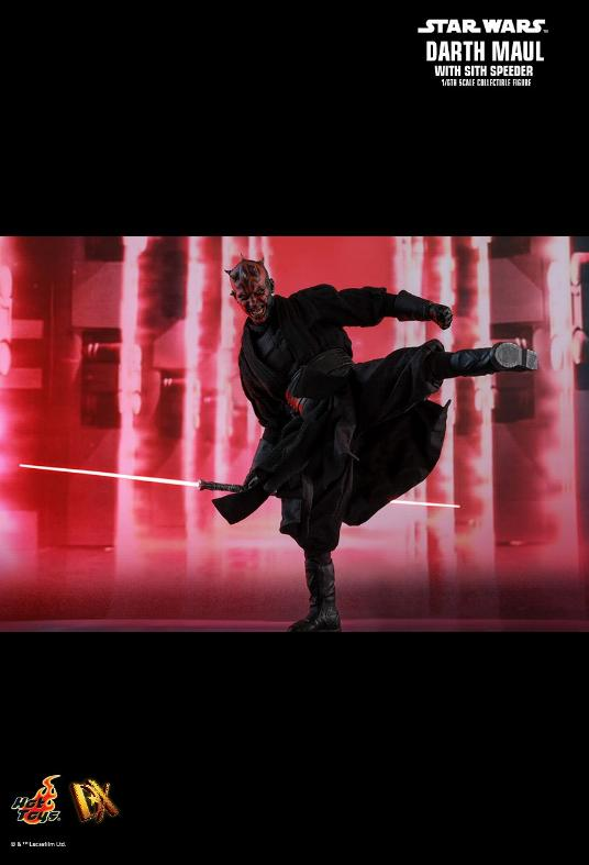 Hot Toys - Star Wars Episode I Darth Maul Sixth Scale Figure Maulan29