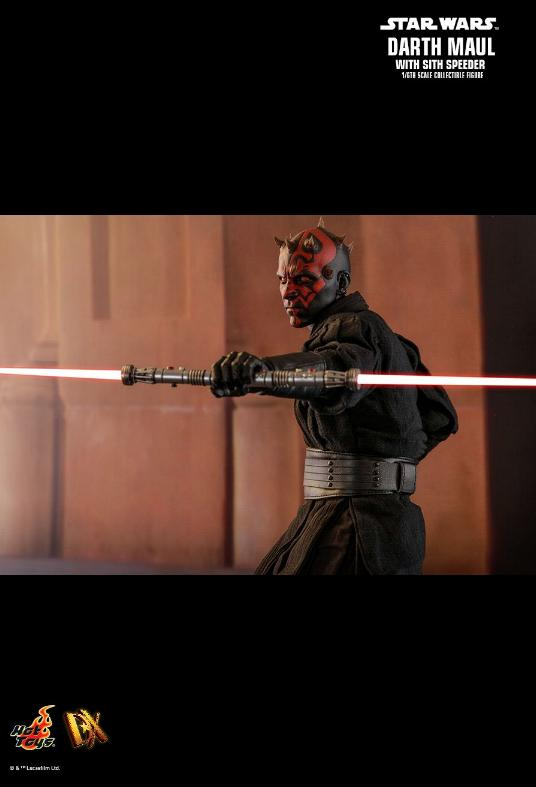 Hot Toys - Star Wars Episode I Darth Maul Sixth Scale Figure Maulan30