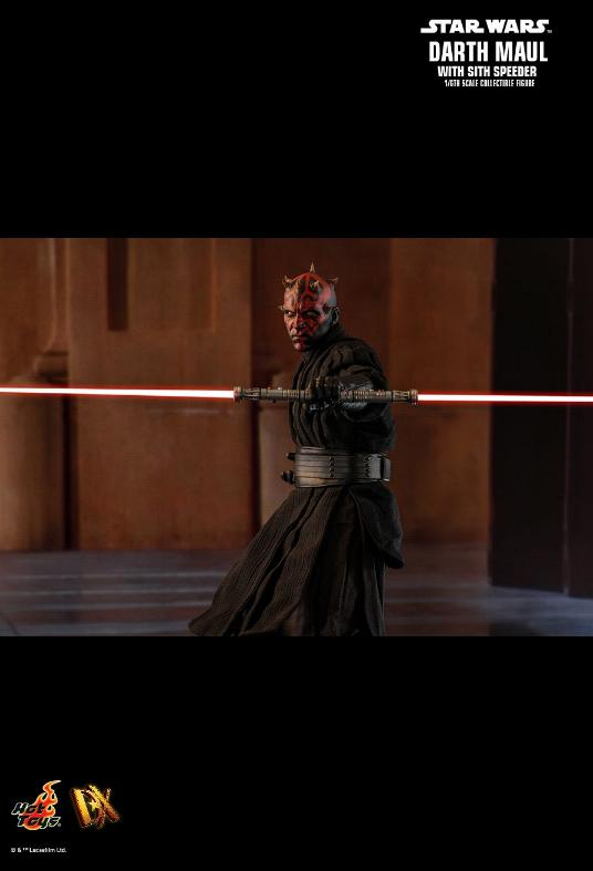 Hot Toys - Star Wars Episode I Darth Maul Sixth Scale Figure Maulan31