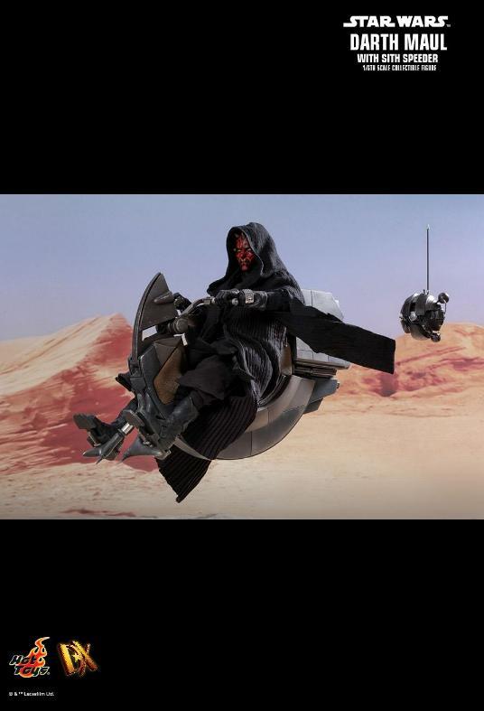 Hot Toys - Darth Maul and Sith Speeder Sixth Scale Figure Maulan36