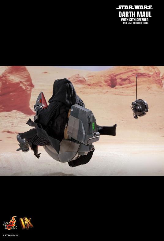 Hot Toys - Darth Maul and Sith Speeder Sixth Scale Figure Maulan37