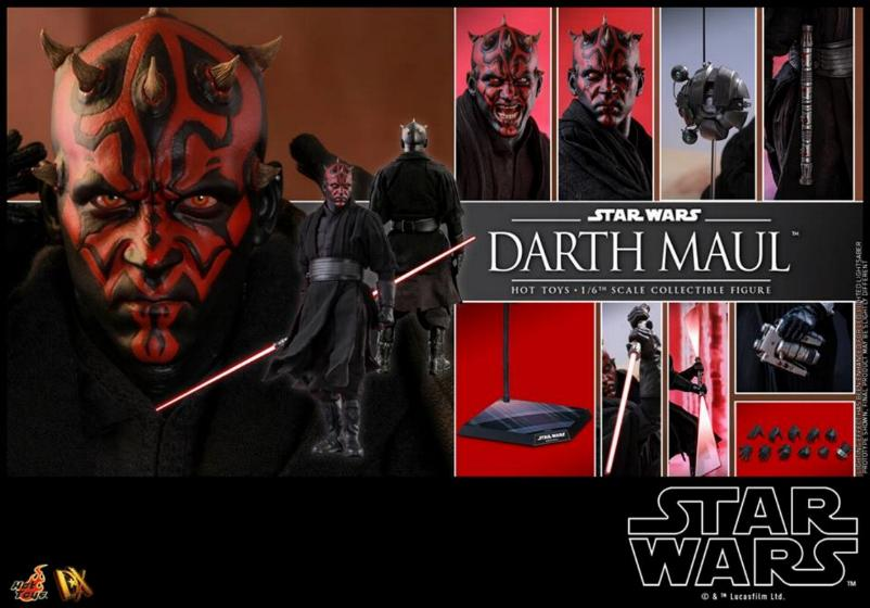 Hot Toys - Star Wars Episode I Darth Maul Sixth Scale Figure Maulan40