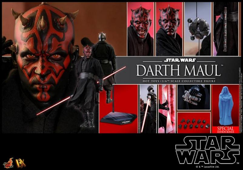 Hot Toys - Star Wars Episode I Darth Maul Sixth Scale Figure Maulan41