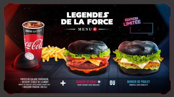 Légendes de la Force – Une Célébration Star Wars (2019) Menu-l10