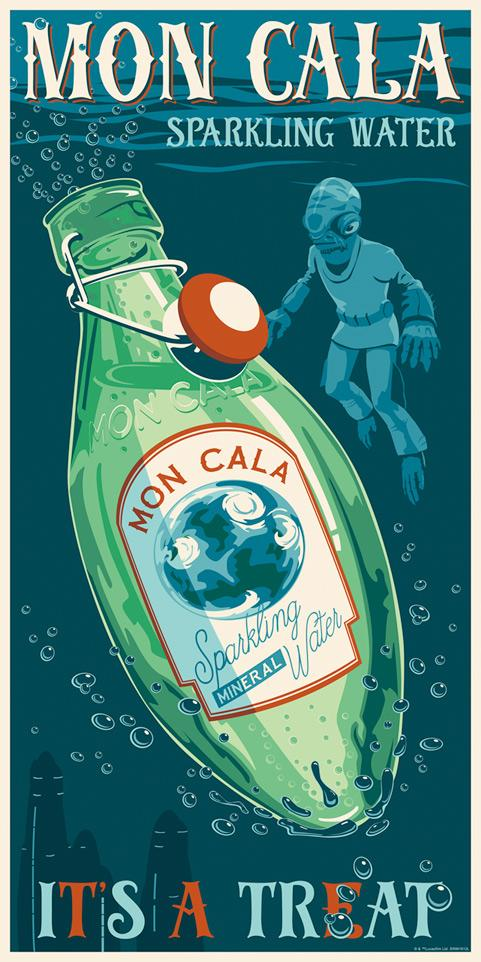 Mon Cala Water - Artwork Star Wars - ACME Archives Mon_ca10