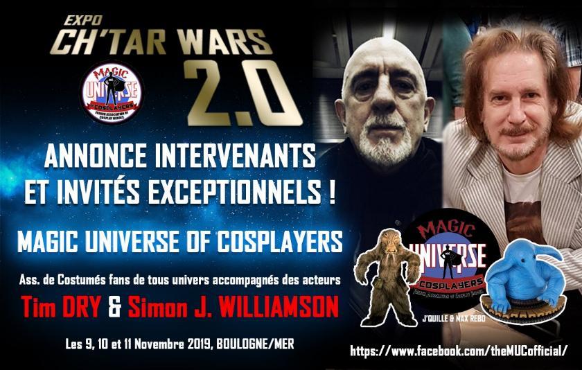 Expo CH'TAR WARS 2.0 Du 09 au 11 Novembre 2019 Muc10