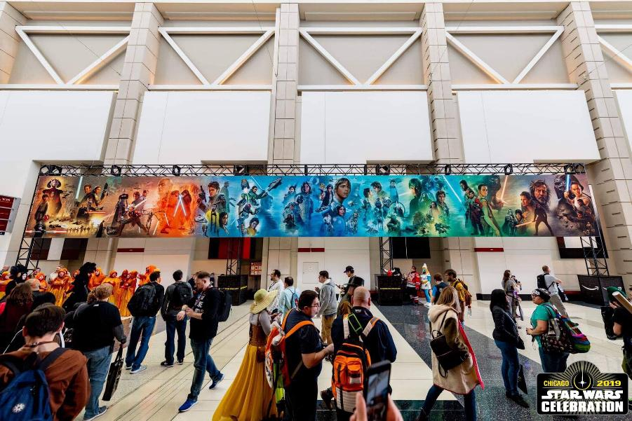 Star Wars Celebration 2019 - Chicago - 11-15 Avril 2019 Mural_12