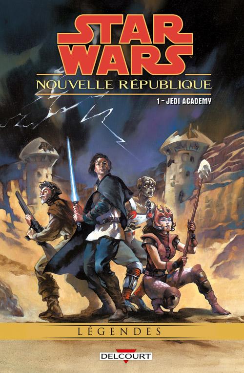 Intégrale Star Wars Nouvelle République - DELCOURT  Nouvel13