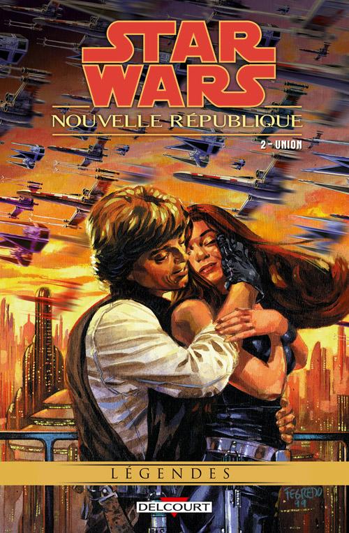 Intégrale Star Wars Nouvelle République - DELCOURT  Nouvel14
