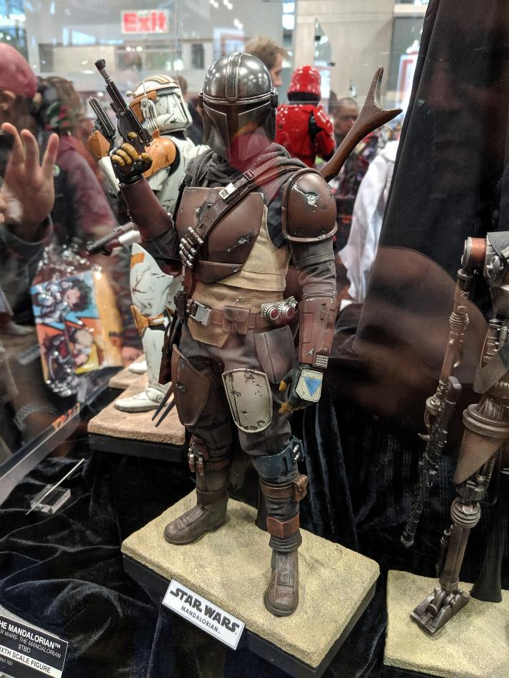 The Mandalorian 1/6 Scale Figure - Hot Toys Star Wars  Nycc-210