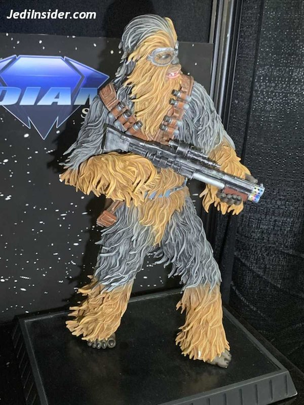 Star Wars Solo Chewbacca On Vandor 1:6 Scale Statue Nytf_012