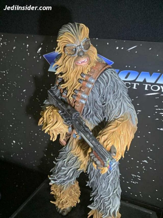 Star Wars Solo Chewbacca On Vandor 1:6 Scale Statue Nytf_013