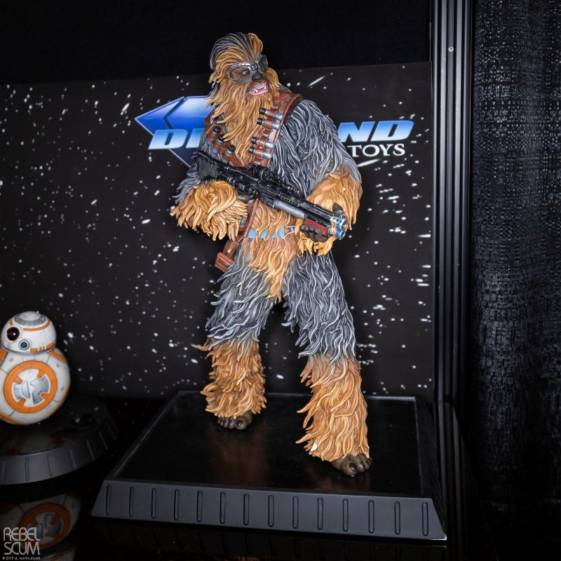 Star Wars Solo Chewbacca On Vandor 1:6 Scale Statue Nytf_020