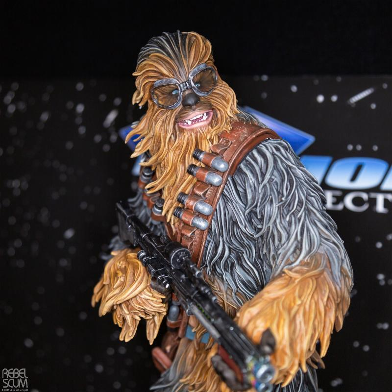 Star Wars Solo Chewbacca On Vandor 1:6 Scale Statue Nytf_021