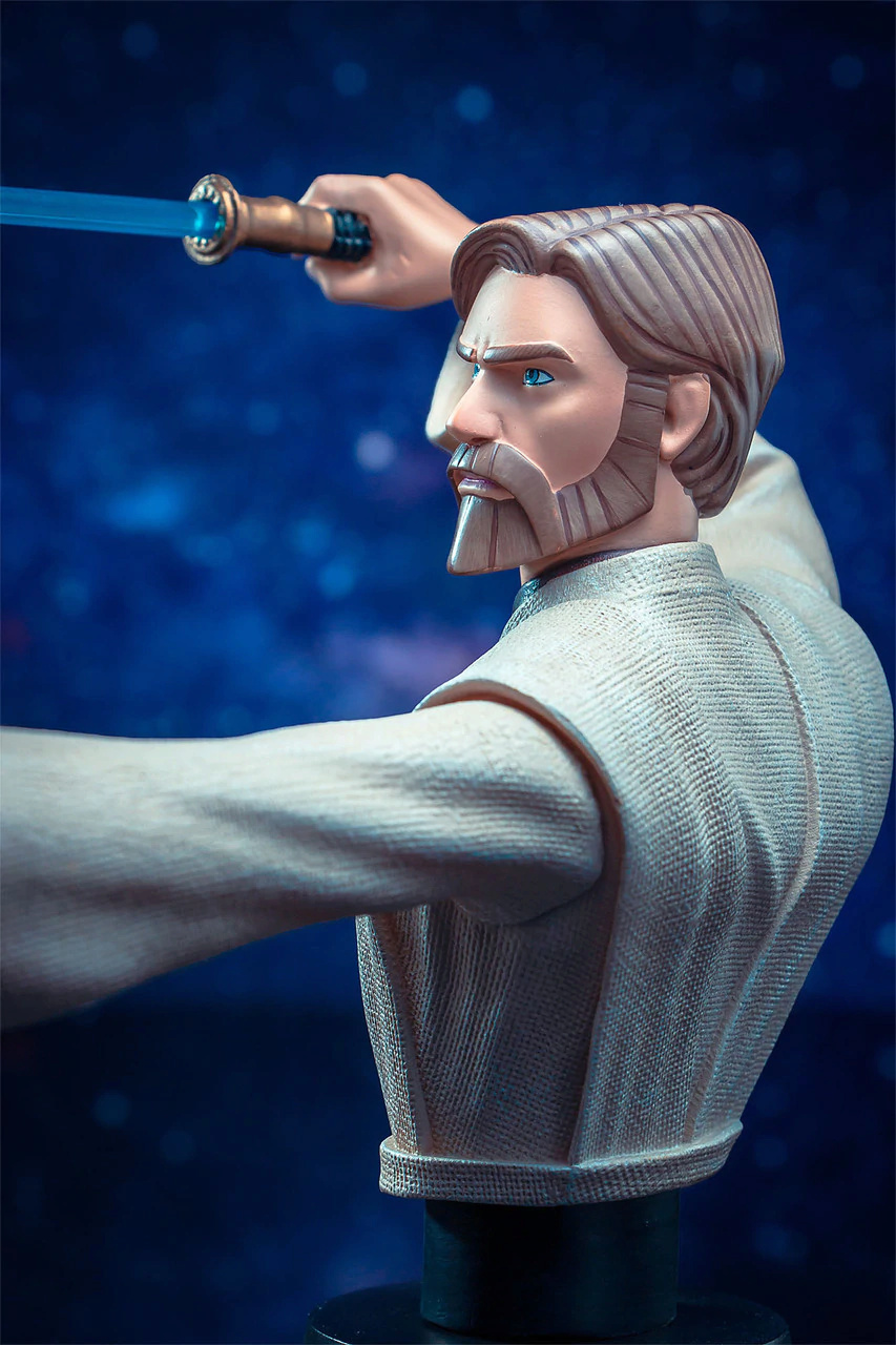 Star Wars Obi Wan Kenobi Bust - 1:7 Scale - Gentle Giant Obi_wa37
