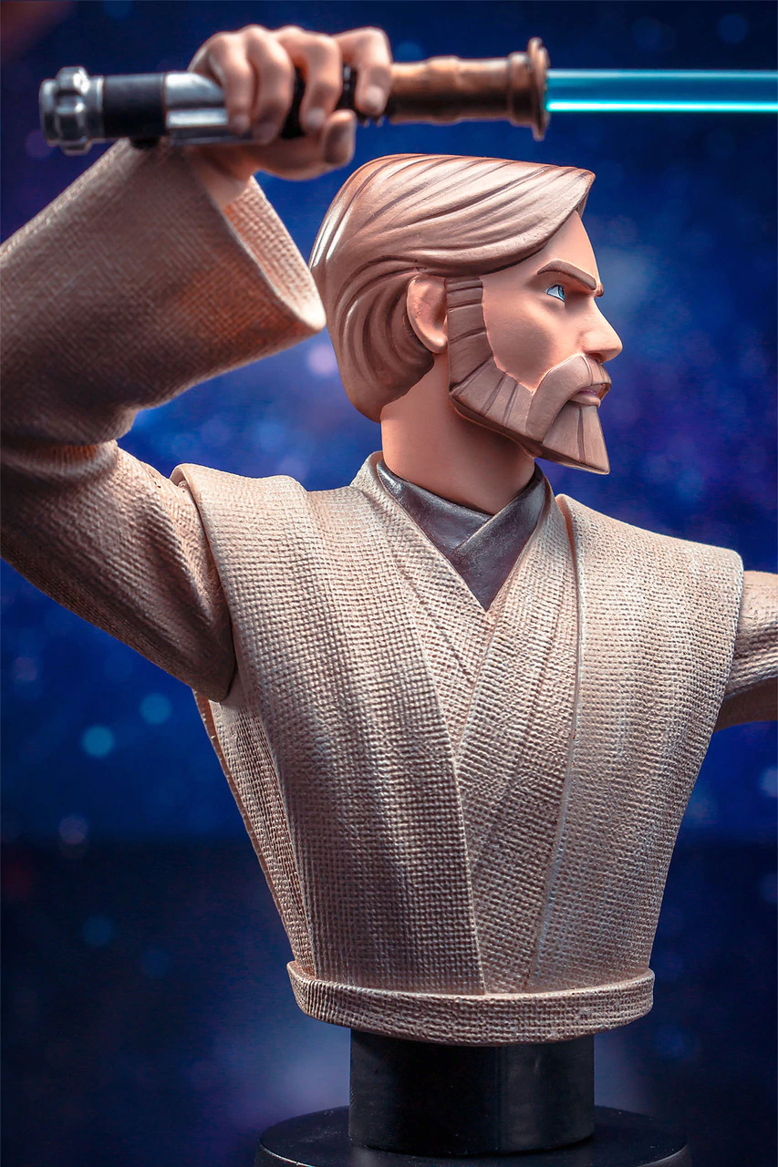 Star Wars Obi Wan Kenobi Bust - 1:7 Scale - Gentle Giant Obi_wa38