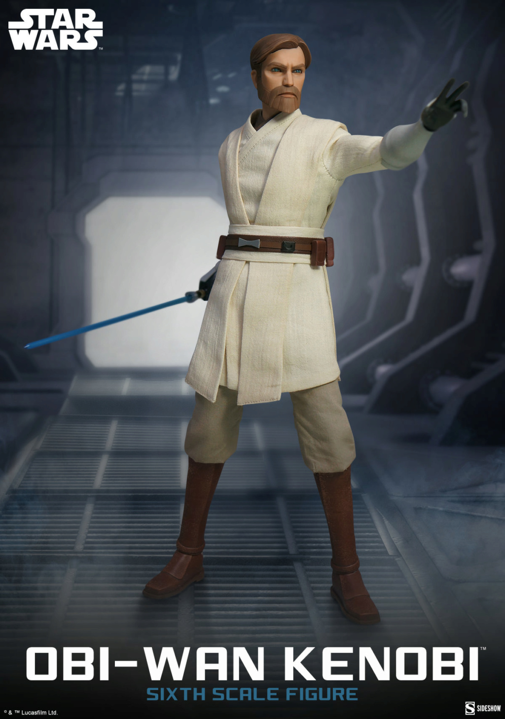 Obi-Wan Kenobi Star Wars The Clone Wars - Sideshow Obi_wa39