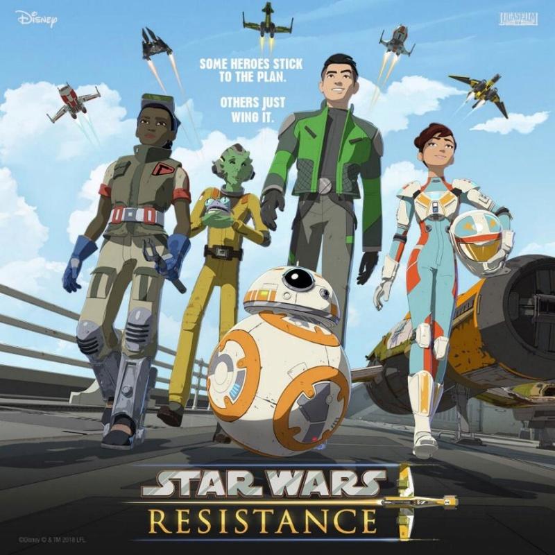 STAR WARS RESISTANCE - Les NEWS Offici10