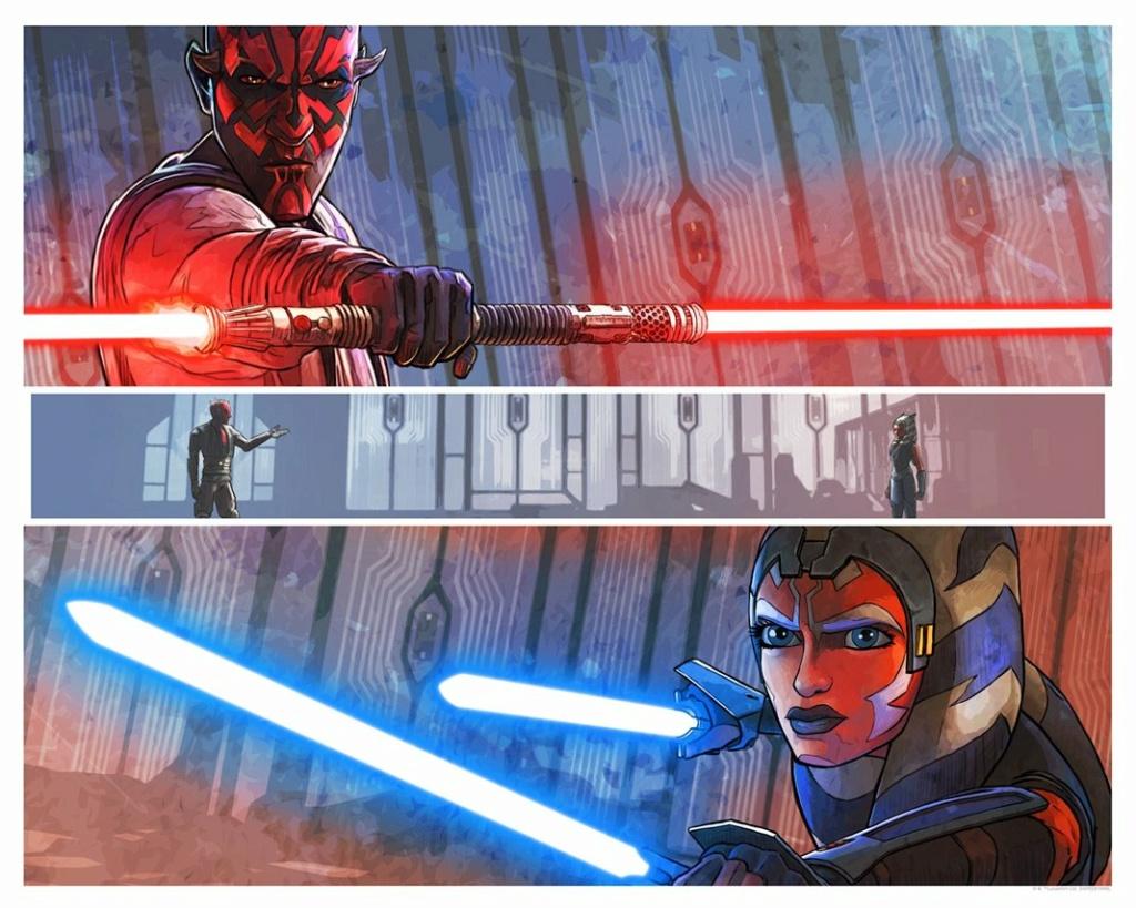 One Last Lesson - Artwork Star Wars - ACME Archives One_la10