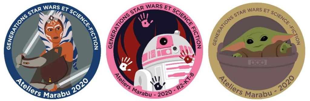 Générations Star Wars et SF 22 - 2 et 3 mai 2020 Patch10