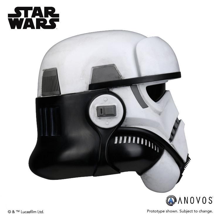 ANOVOS STAR WARS - Imperial Patrol trooper Helmet Patrol11