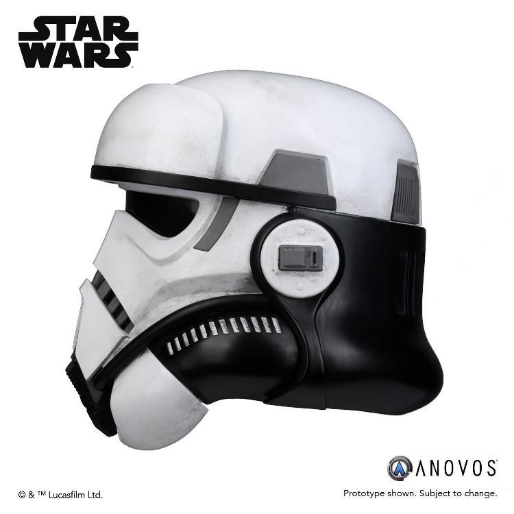 ANOVOS STAR WARS - Imperial Patrol trooper Helmet Patrol13