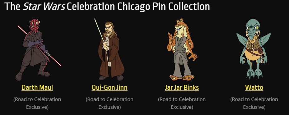Star Wars Celebration 2019 - Chicago - 11-15 Avril 2019 Pins_012