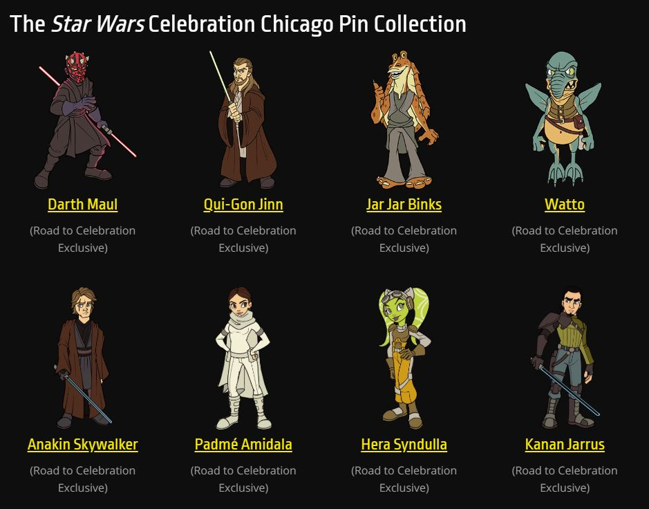Star Wars Celebration 2019 - Chicago - 11-15 Avril 2019 - Page 3 Pins_014