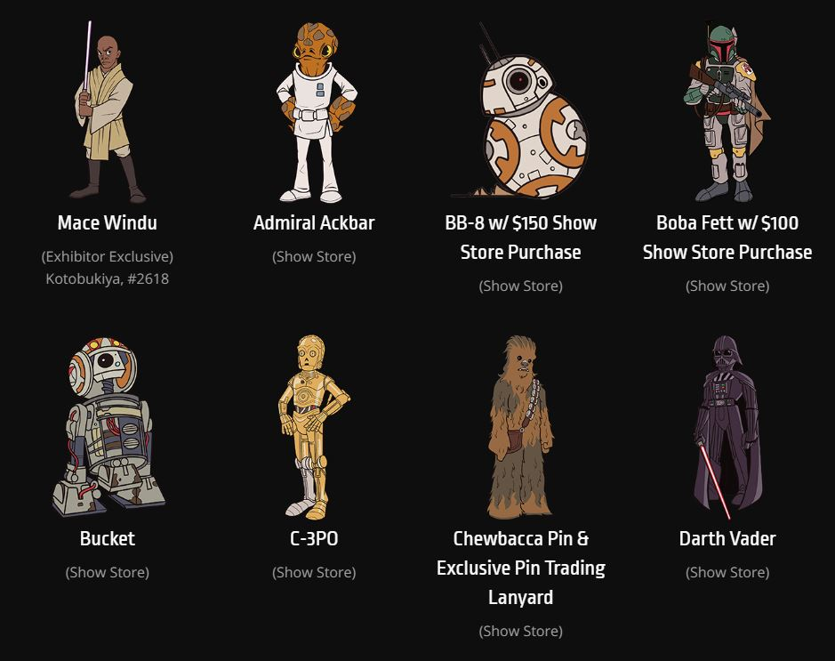 Star Wars Celebration 2019 - Chicago - 11-15 Avril 2019 - Page 3 Pins_016