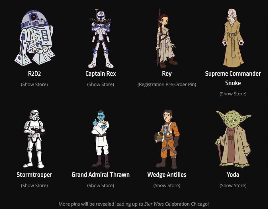 Star Wars Celebration 2019 - Chicago - 11-15 Avril 2019 - Page 3 Pins_019