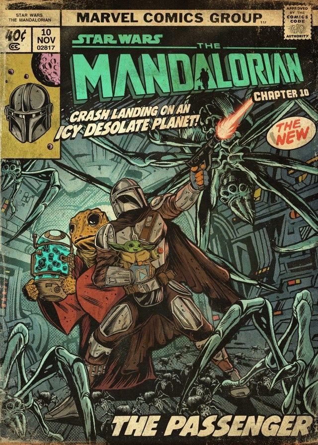 Teaser Poster Video FanMade Star Wars The Mandalorian - Page 2 Poste102