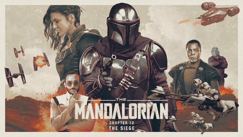 Teaser Poster Video FanMade Star Wars The Mandalorian - Page 2 Poste104