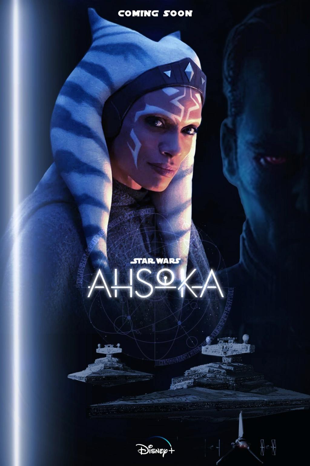 FAN MADE - Posters / Vidéos  Star Wars Ahsoka Poste113