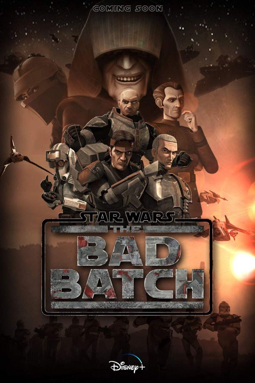 Fan Poster, Fan Film - Star Wars The Bad Batch Poste115